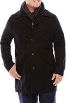 Jf J.Ferrar JF Double Knit-Collar Men's Jacket - Big & Tall