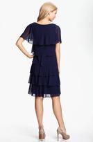 Patra Beaded Edge Layered Chiffon Dress