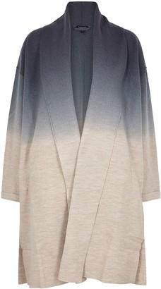 Eileen Fisher Degrade Brushed Wool Cardigan