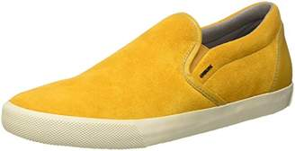 Geox U SMART A, Men's Sneakers, Yellow (Curryc2021), (44 EU)