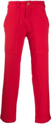 Comme des Garçons Shirt Wide-Leg Cargo Trousers