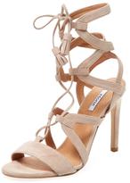 Liza Suede Lace-Up Sandal