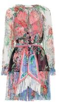 Zimmermann Bellitude Spliced Short Dress