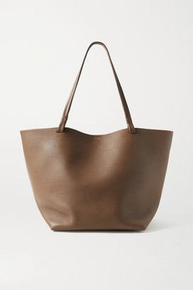The Row Park 3 Medium Leather Tote - Light brown