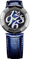 Jowissa Women's J1.164.L Safira 24 Navy Blue Patent Leather Watch