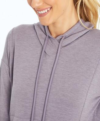 Ash Balance Collection Women's Sweatshirts and Hoodies H.PURPLE - Heather Purple Gia Hoodie - Women