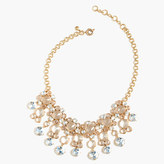 J.Crew Icy crystal drop necklace