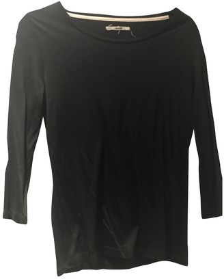 J Brand Black Cotton Top for Women