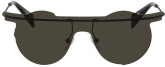 Yohji Yamamoto Black YY7027 Sunglasses