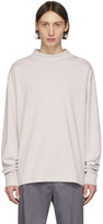 Maison Margiela Off-White Mock Neck Sweatshirt