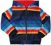 Paul Smith Reversible Nylon & Jersey Jacket