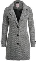 Anna Field Classic coat black/off white