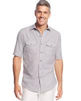 Tasso Elba Men's Solid Short-Sleeve Shirt