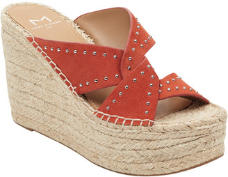 Marc Fisher Angelina Suede Wedge Sandal