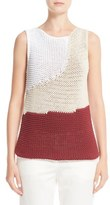 Fabiana Filippi Colorblock Knit Tank