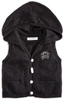 3 Pommes Infant Boys' Hooded Knit Vest - Sizes 3-24 Months
