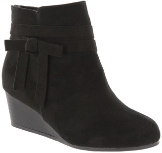 Mia Dana Bow Wedge Bootie (Toddler, Little Kid, & Big Kid)