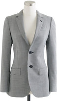 Ludlow Collection women's jacket in houndstooth Italian wool