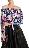 Yumi Kim Floral Off-The-Shoulder Blouse
