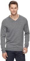 Apt. 9 Men's Modern-Fit Merino Wool Blend V-Neck Sweater