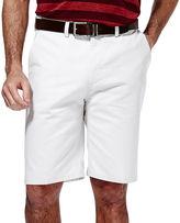 Haggar Eco Straight-Fit Flat-Front Shorts
