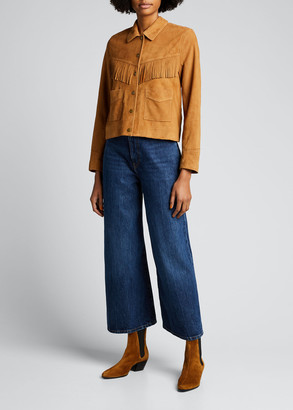The Great The Suede Fringe Jacket