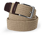 Lands' End Men's Big Elastic Braid Belt-True Navy