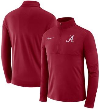Nike Men's Crimson Alabama Crimson Tide Core Half-Zip Pullover Performance Jacket