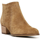 Franco Sarto Sarto by Erynn Suede Side-Slit Detail Block Heel Booties