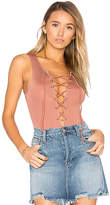 Tularosa Nile Bodysuit in Pink. - size L (also in M)