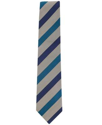 Paul Smith Mixed Stripe Diagonal Tie Colour: CORAL, Size: One Size