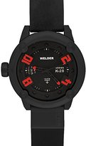 Welder Men's K28-7300 K28 Automatic Analog Black Ion-Plated Stainless Steel Round Watch