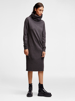 DKNY Pure Merino Cowl Neck Dress