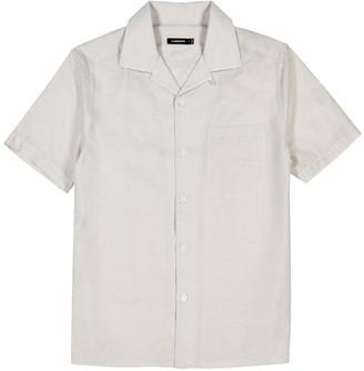 J. Lindeberg Daniel stone woven shirt