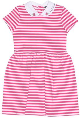 Polo Ralph Lauren Kids Striped ponte jersey dress