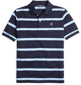 Brooks Brothers Boys' Striped Pique Polo - Sizes XS-XL