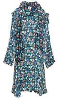 Vetements Floral-printed silk dress