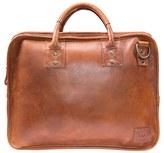 Will Leather Goods Men's 'Hank' Satchel - Black