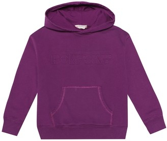 Bonpoint Stretch-cotton hoodie
