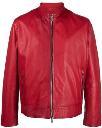 Suprema Leather Biker Jacket
