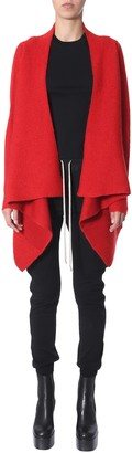Rick Owens Cardigan With Drapes