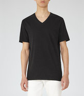 Reiss Harvest Linen Blend T-Shirt