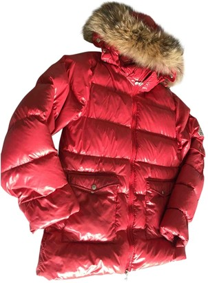 Pyrenex Red Synthetic Coats