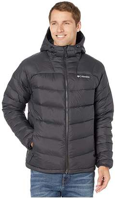 Columbia Centennial Creektm Down Hooded Jacket (Black) Men's Coat