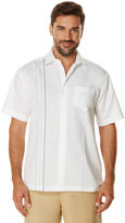 Cubavera Short Sleeve Ramie Cotton 1 Pocket With Embroidery