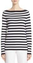 Michael Kors Women's Stripe Boatneck Sweater