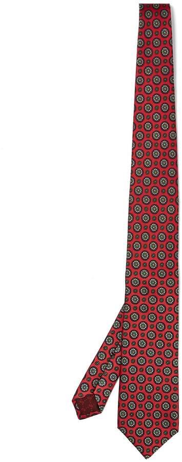 Gucci Floral-print silk tie