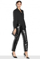 Milly Lightweight Leather Skinny Slouch