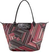 Longchamp Le Pliage Pop Art Large Shoulder Tote Bag
