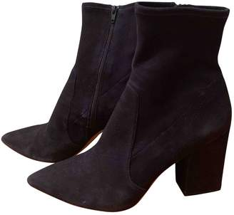 Loeffler Randall Navy Suede Ankle boots